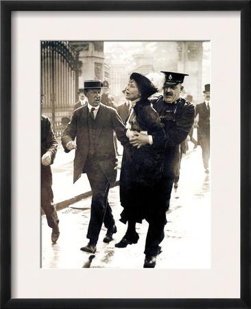 Emmeline Pankhurst Framed Photographic Print
