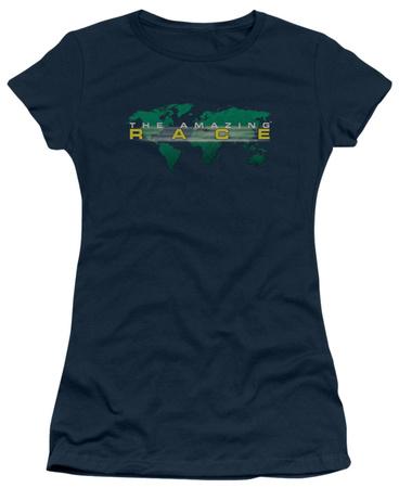 Juniors: The Amazing Race - Race Around the World T-shirts