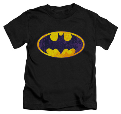 Juvenile: Batman - BM Neon Distress logo T-shirts
