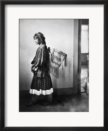 Apache Woman, C1902 Framed Photographic Print