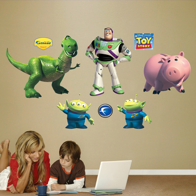 Toy Story Friends Wall Decal