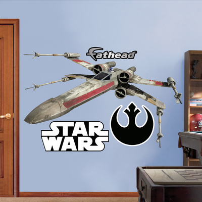 Star Wars X-wing Fighter Fathead giant wall decal gift merchandise