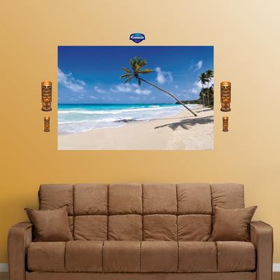 Tropical Beach Wall Decal