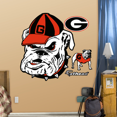 Georgia Bulldogs Gdog Logo Wall Decal