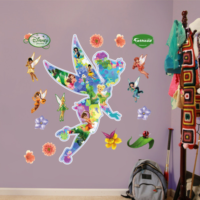 Disney Fairies Montage Wall Decal