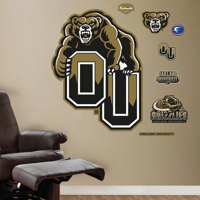 Oakland University Logo Wall Decal