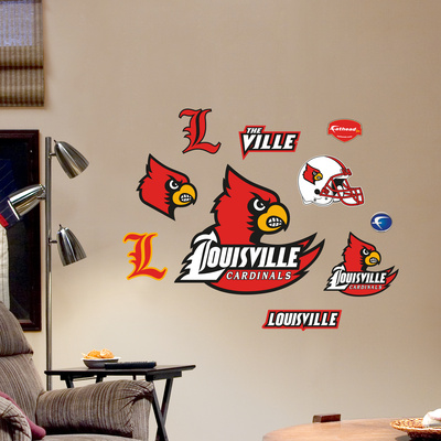 Louisville Jr. Logosheet Wall Decal