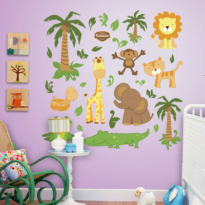Zoo Collection Wall Decal