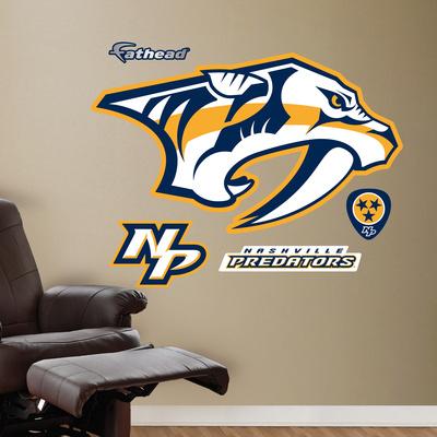 Predators 2011-2012 Logo Wall Decal