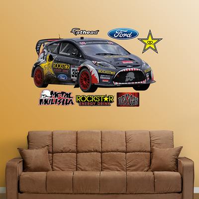 Brian Deegan Rally Car Wall Decal