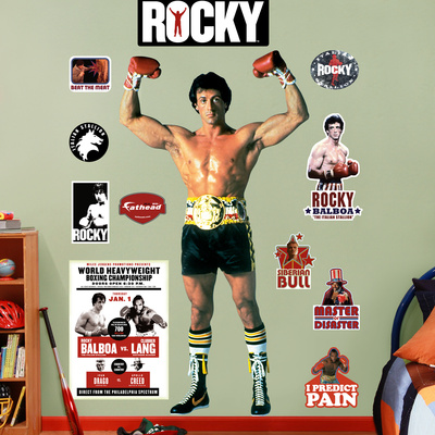 Rocky Balboa Wall Decal