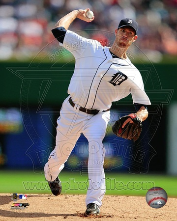 Doug Fister 2012 Action Photo