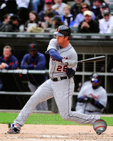 Brennan Boesch 2012 Action Photo
