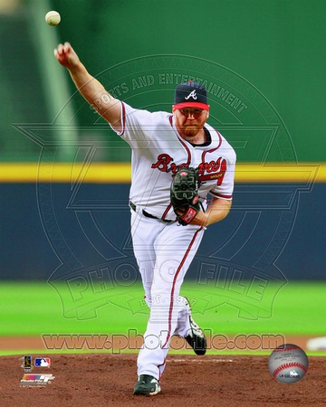 Tommy Hanson 2012 Action Photo