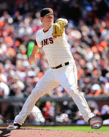 Matt Cain 2012 Action Photo