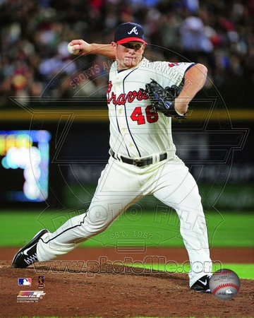Craig Kimbrel 2012 Action Photo