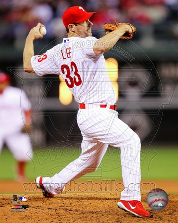 Cliff Lee 2012 Action Photo