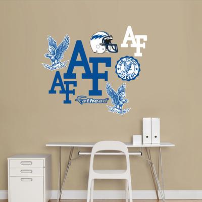 Air Force Logo Sheet Jr. Wall Decal