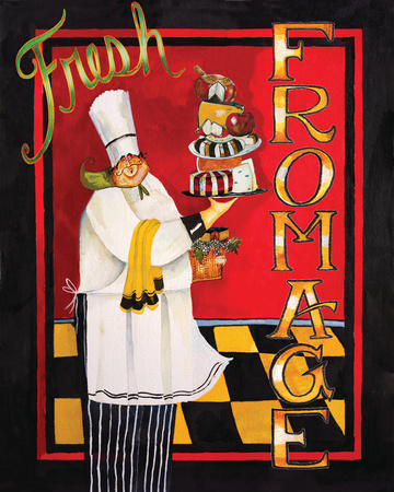 Fromage Poster by Jennifer Garant
