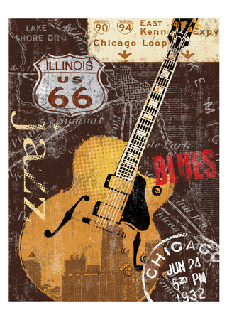 Chi-town Posters by Keith Mallett