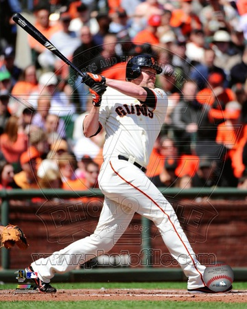 Aubrey Huff 2012 Action Photo