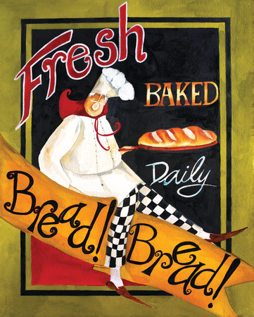 Fresh Baked Bread Art Print