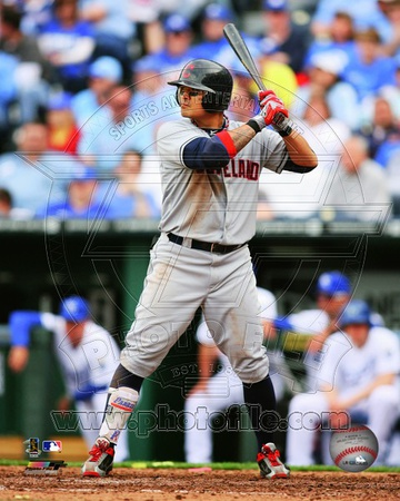 Shin-Soo Choo 2012 Action Photo