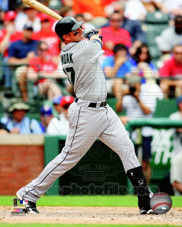 Justin Smoak 2012 Action Photo