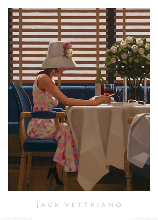 Days of Wine & Roses Prints by Jack Vettriano