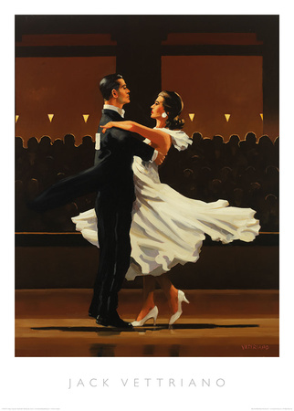 Take this Waltz Poster by Jack Vettriano