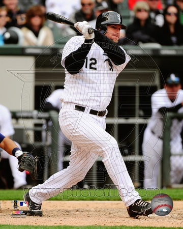 A.J. Pierzynski 2012 Action Photo