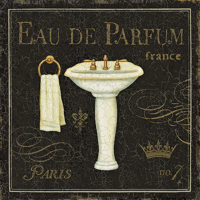 Bain De Luxe III Print by Daphne Brissonnet