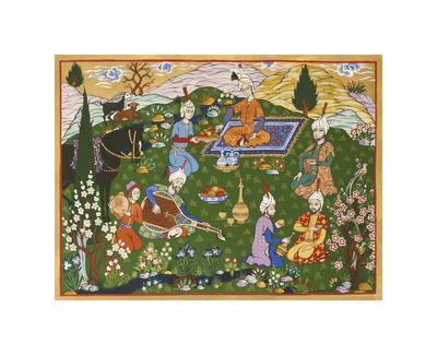 Persian Scene VI Premium Giclee Print by E.S. Elmhurst