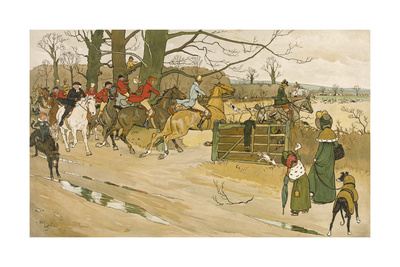 Fallowfield Hunt Reproduction procédé giclée Premium