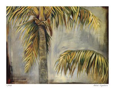 Palm Breeze II Giclee Print by  Judeen
