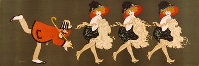 Chorus Girls II Premium Giclee Print by Edouard Bernard