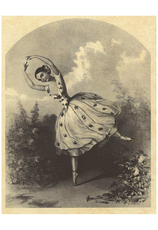 Alfred Edward Chalon (The dancer Maria Taglioni in