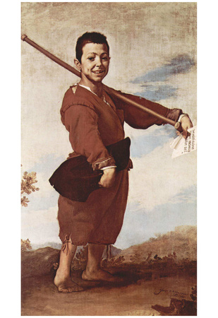 José de Ribera (The clubfoot) Art Poster Print Photo