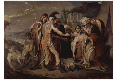 James Barry (King Lear Cordelia beweint) Art Poster Print Prints