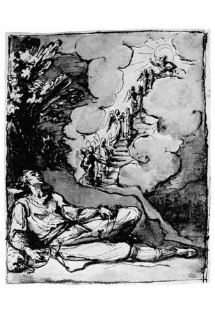 Lodovico Cigoli (Jacob's dream of the ladder) Art Poster Print Posters