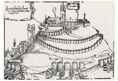 Hans Sebald Beham (Siege of Landstuhl) Art Poster Print Posters