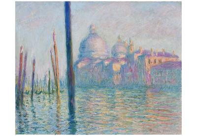 Claude Monet (Le Grand Canal, Venice) Art Poster Print Prints
