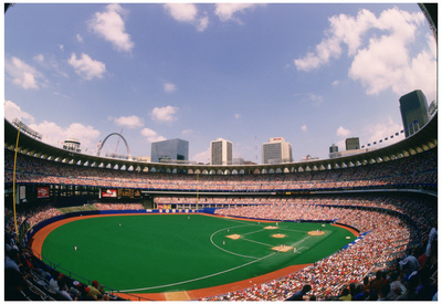 Busch Memorial Stadium St Louis Cardinals Archival Sports Photo Poster Print Photo