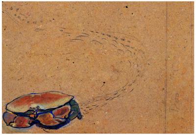 Henri de Toulouse-Lautrec Crab on the Sand Art Print Poster Posters