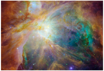 Orion Nebula Space Photo Art Poster Print Posters