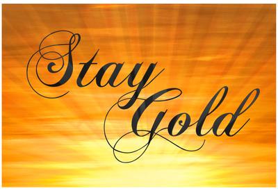 Stay Gold Ponyboy Print Poster Kunstdrucke