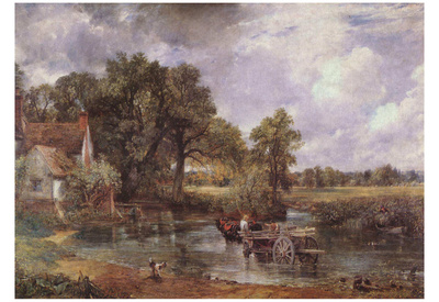 John Constable (The Hay Wain) Art Poster Print Posters