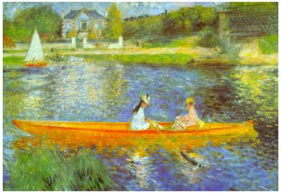 Pierre Auguste Renoir The Seine Art Print Poster Posters