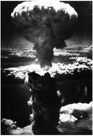Atomic Bomb (Bombing of Nagasaki) Archival Photo Poster Posters