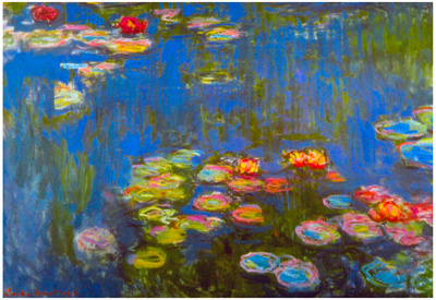 Claude Monet Waterlillies Art Print Poster Photo